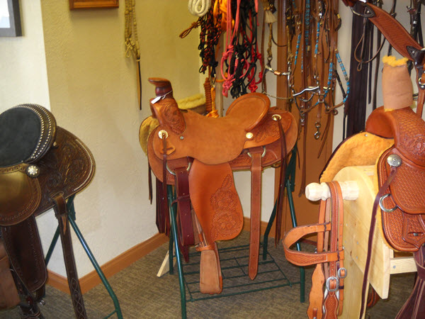 New Custom Leather Saddles
